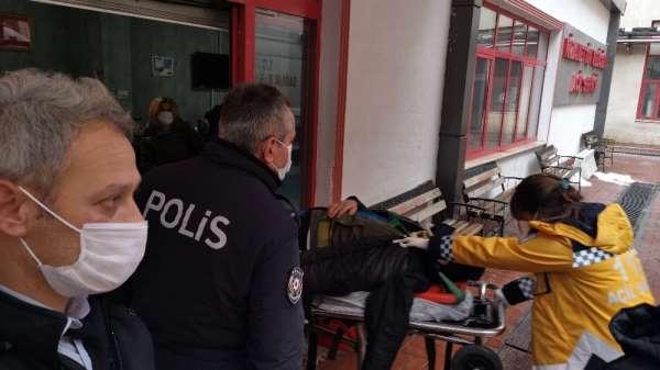 Otobüs kazasında yaralanan yolcular hastaneye sevk edildi