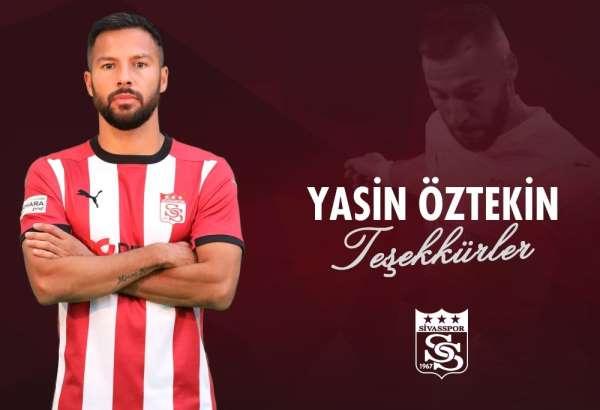 Sivasspor Yasin Öztekine teşekkür etti