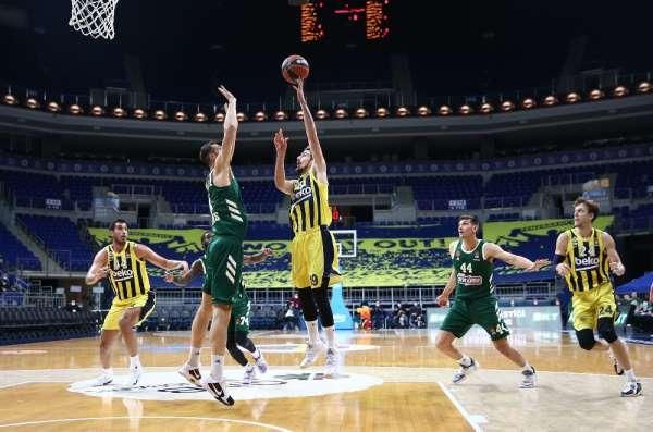THY Euroleague: Fenerbahçe: 100 - Panathinaikos: 74