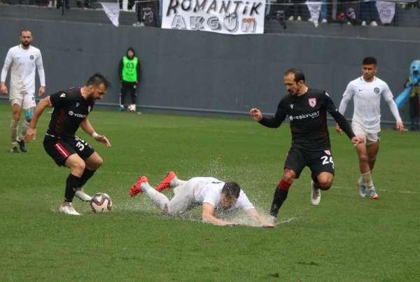 TFF 2. Lig: Manisa FK: 1 - Samsunspor: 3
