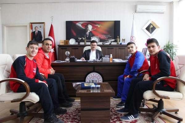 Türkiye üçüncülerinden İl Müdürüne ziyaret