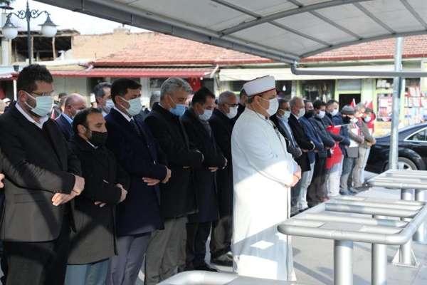 Erzincanda şehitler için gıyabi cenaze namazı kılındı