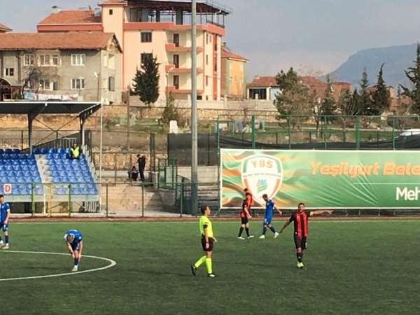 Yeşilyurt Belediyespor sahasında Yozgat 1959'u 1-0 yendi