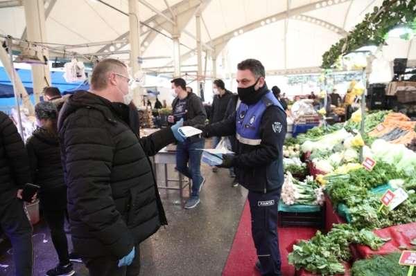 Nilüfer'de pazarlar hafta içine taşındı