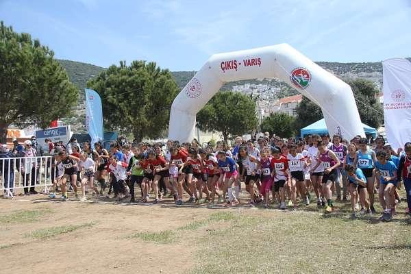 Atletizm kros ligi yarı final yarışmaları Didimde gerçekleştirildi