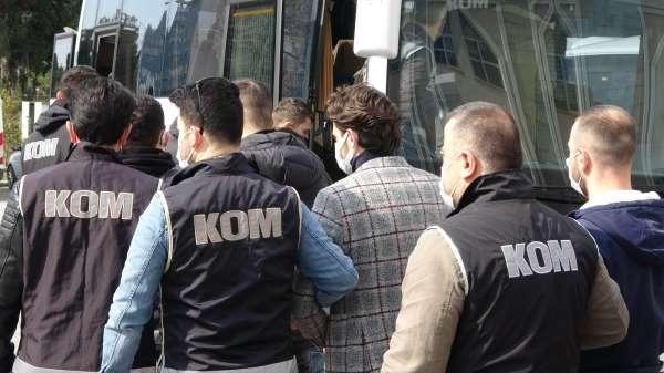 Samsun merkezli suç örgütü operasyonunda 11 kişiye adli kontrol