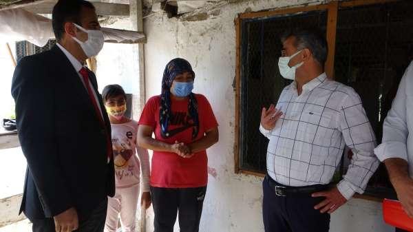 Aile ve Sosyal Hizmetler Bakanlığı, bayramda sel mağdurlarını yalnız bırakmadı