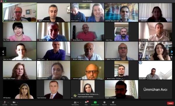 Bartın Üniversitesi ailesi çevrimiçi bayramlaşmada bir araya geldi