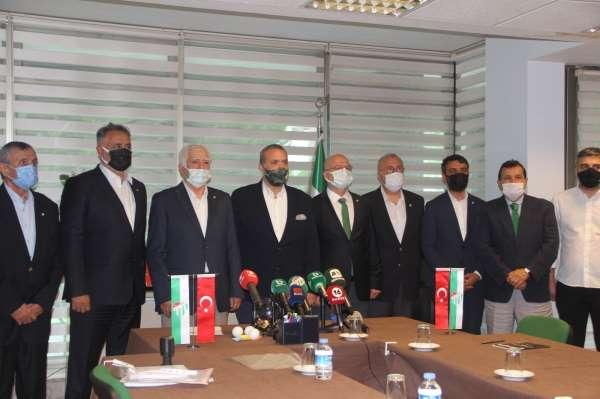 Bursasporda başkan adayları listelerini teslim etti