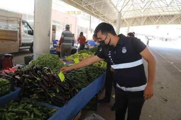 Çamelide pazarlar önlemler kapsamında ikinci defa kuruldu