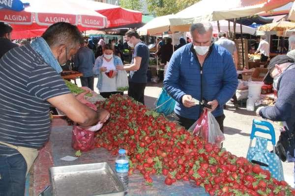 Samsunda pazarın açılması memnun etti