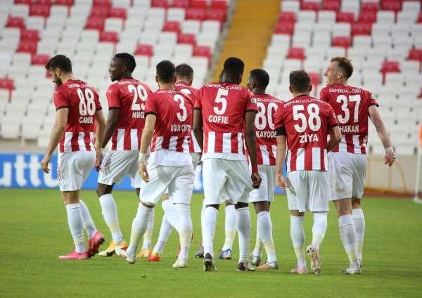 Sivasspor ligdeki 16. galibiyetini aldı