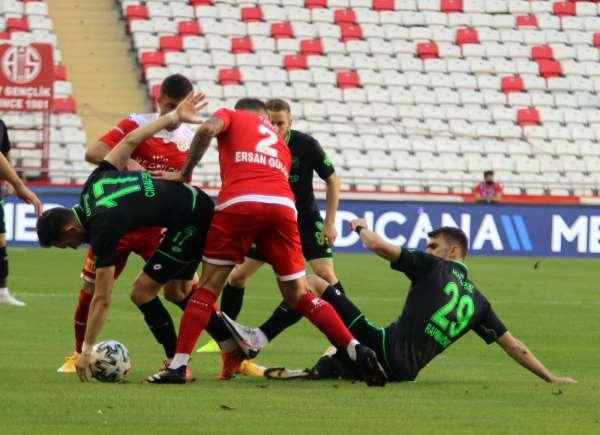 Süper Lig: FT Antalyaspor: 0 - İH Konyaspor: 0
