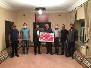 Türkiye Gaziler ve Şehit Aileleri Vakfından şehit ailelerine ziyaret