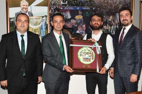 Limak Uludağ Elektrik, Bursaspor Kulübünü ziyaret etti
