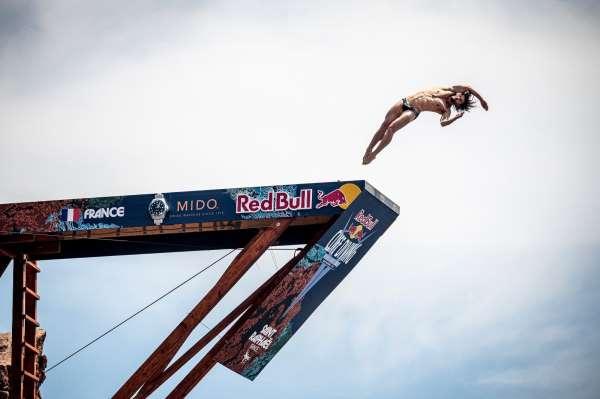 Red Bull Cliff Diving Fransada başladı
