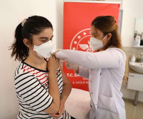 Samsunda günlük aşı rekoru kırıldı