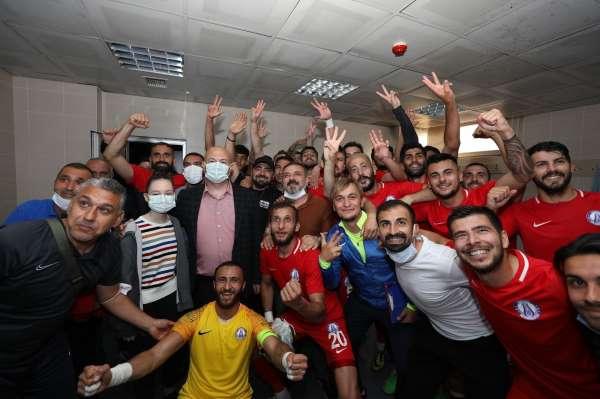 Sincan Belediyespor, Ankara D.S.İyi 3-0 mağlup etti.