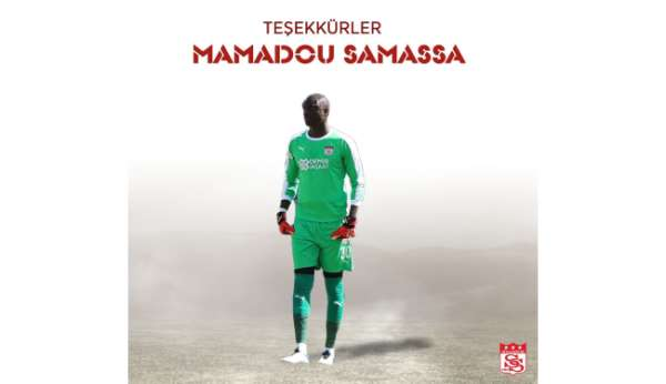 Sivasspor kaleci Samassaya teşekkür etti