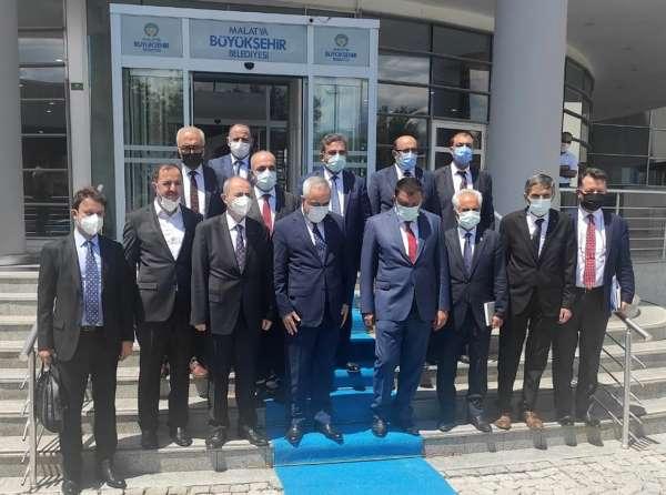 TARSİM Malatya, Elazığ, Tunceli ve Erzincanda ziyaretler gerçekleştirdi
