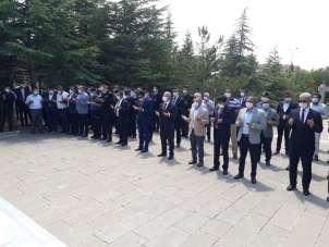 15 Temmuz Demokrasi ve Milli Birlik Günü şehitlerini için mevlit okutuldu