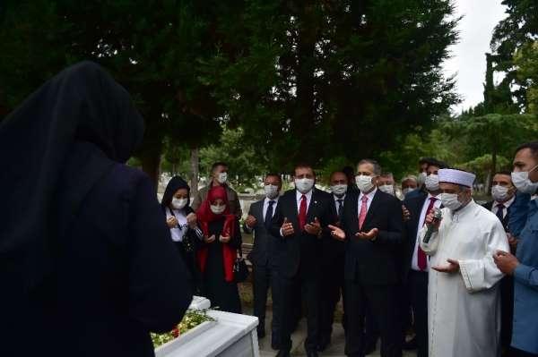 15 Temmuz Edirnekapı Şehitliği'nde anma töreni düzenlendi
