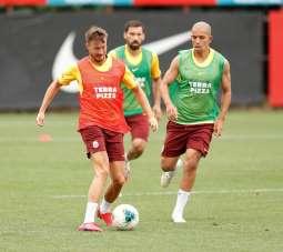 Galatasaray, Göztepe maçının hazırlıklarını sürdürdü