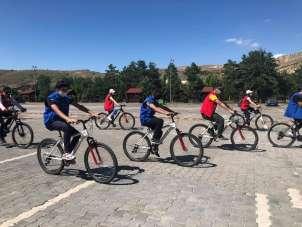 Sivas'ta 15 Temmuz anısına bisiklet turu