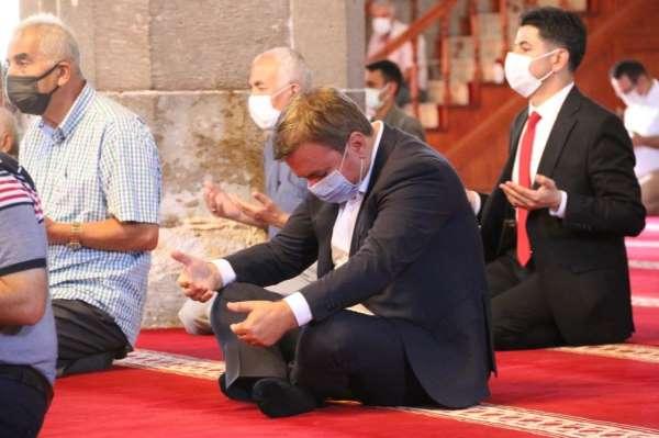 Aksarayda şehitler için mevlit okutulup, hatim duası edildi