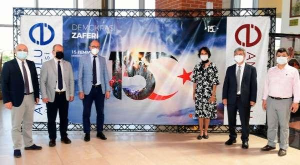 Anadolu Üniversitesinde 15 Temmuz Demokrasi ve Milli Birlik Günü fotoğraf sergisi