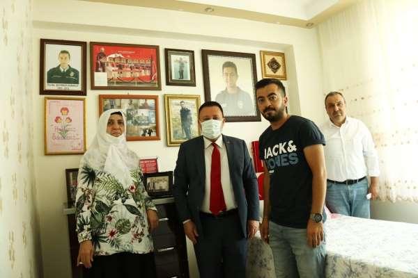 Başkan Beyoğlu şehit aileleri ile bir araya geldi