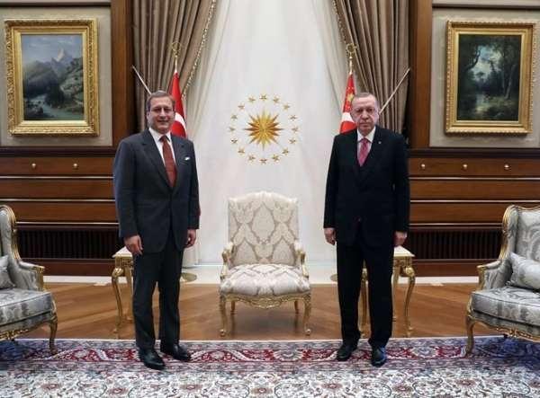 Cumhurbaşkanı Recep Tayyip Erdoğan, Burak Elması kabul etti