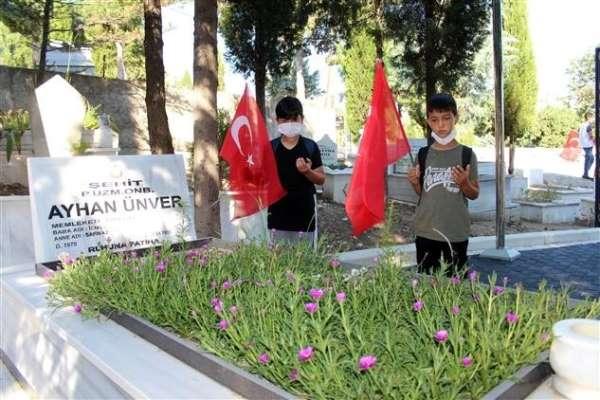 Kuran kursu öğrencileri 15 Temmuz şehitlerini unutmadı