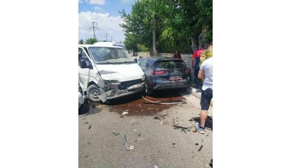 Mardinde zincirleme kaza: 7 yaralı