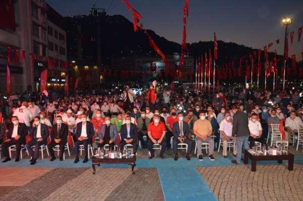 Orduda 15 Temmuz Şehitlerini Anma, Demokrasi ve Milli Birlik Günü Programı