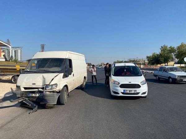 Şanlıurfada trafik kazası: 2 yaralı