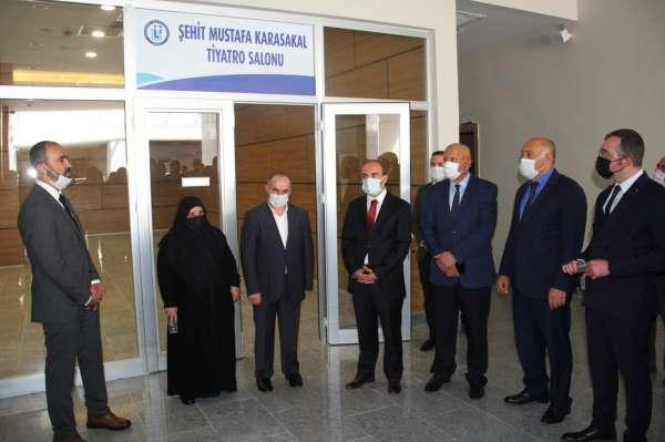 Şehit Mustafa Karasakalın ismi Bayburt Üniversitesinde yaşayacak