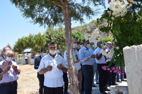 Şehit Pilot Hasan Öztürk mezarı başında anıldı