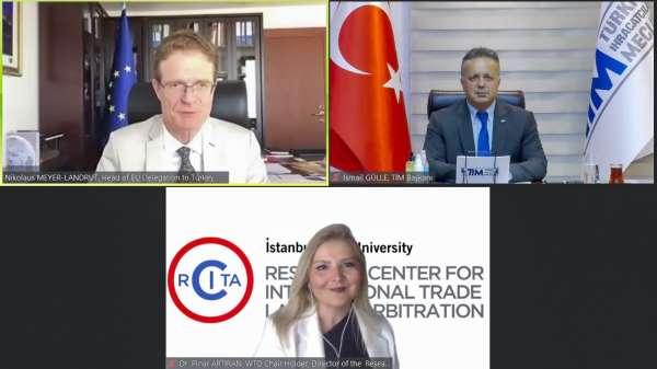 TİM İklim Sohbetlerinin ilk konuğu AB Türkiye Delegasyonu Başkanı oldu