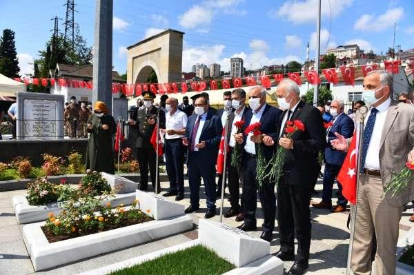 Trabzonda 15 Temmuzun 5. yıl dönümünde şehitler anıldı