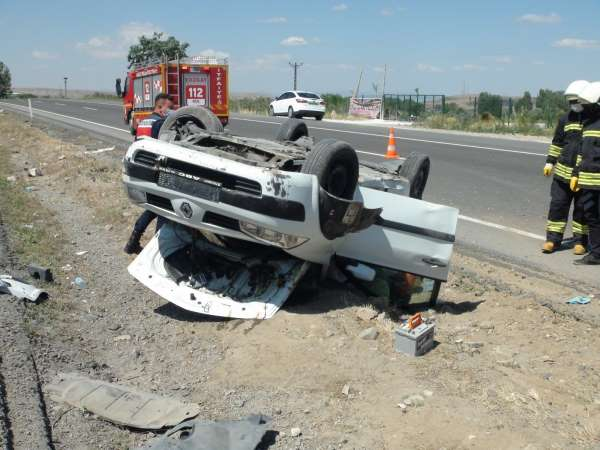 Yozgatta trafik kazası: 2 yaralı