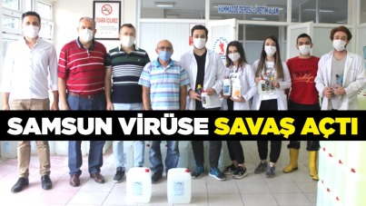 Samsun virüse savaş açtı