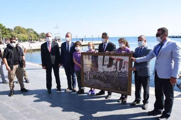 Atatürk'ün Sinop'a gelişinin 92. yılı coşkuyla kutlandı