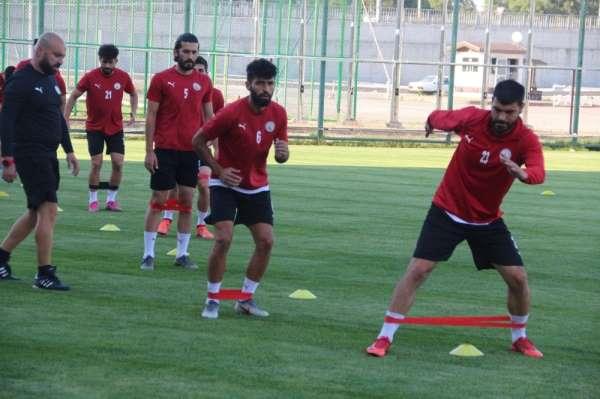 Sivas Belediyespor, Kırklarelispor maçı hazırlıklarına başladı