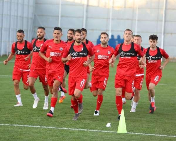 Sivasspor'da Erzurumspor maçı hazırlıkları başladı