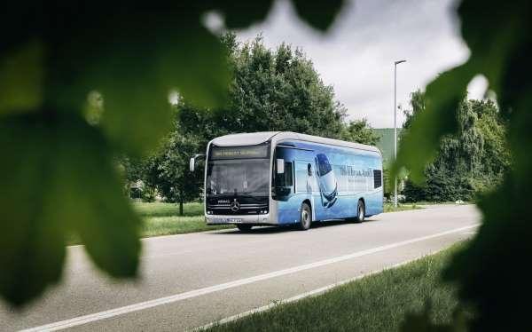 Ar-Gesi Türkiyede yapılan elektrikli otobüs, Almanyada emisyonsuz ulaşım sağladı