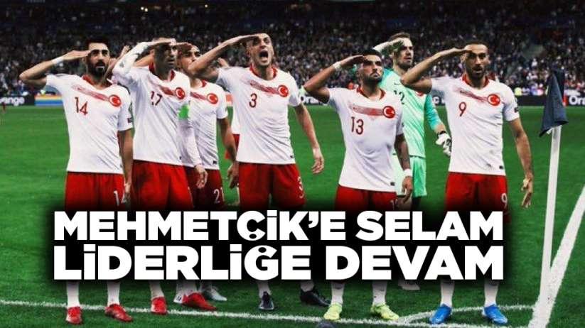 Mehmetçik'e selam, liderliğe devam