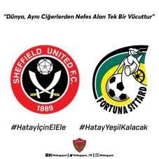 Avrupa kulüplerinden 'Hatay İçin El Ele' kampanyasına destek