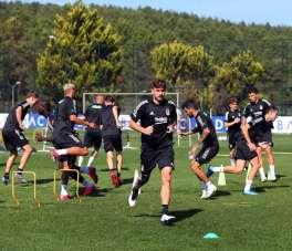 Beşiktaş, Denizlispor hazırlıklarına devam etti