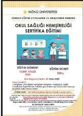Malatya Üniversitesi'nde Okul Sağlığı Hemşireliği Sertifika Eğitimi düzenlenecek